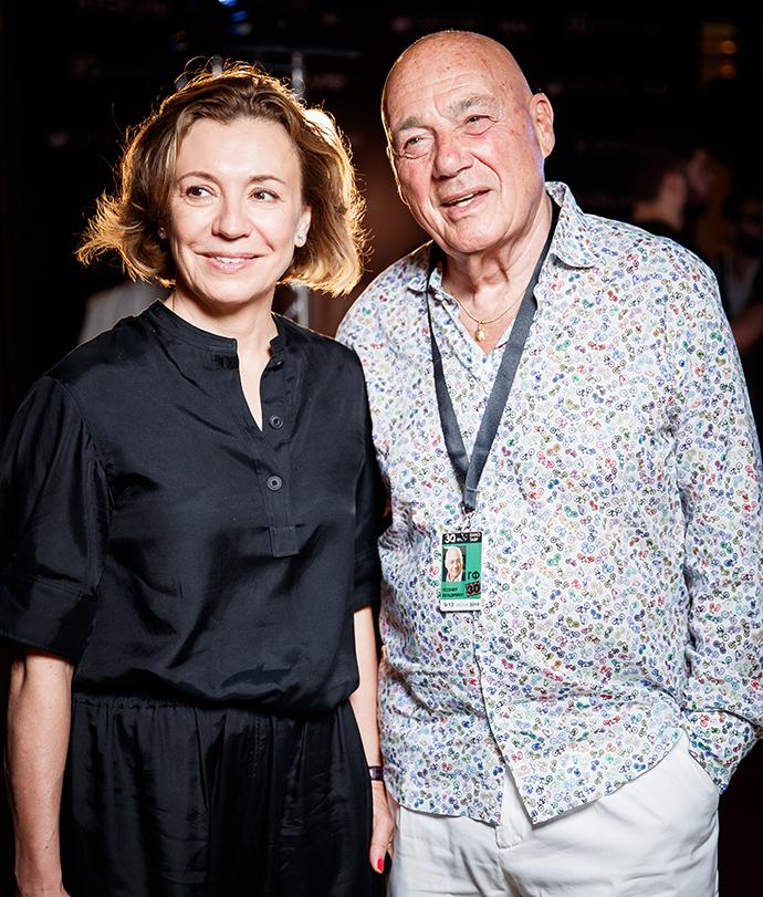 Валерия Роднянская и Владимир Познер