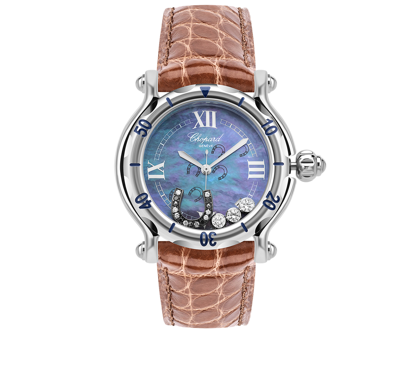 Часы Happy Horseshoe Chopard Happy Sport 288422-3001 - фото 1 – Mercury