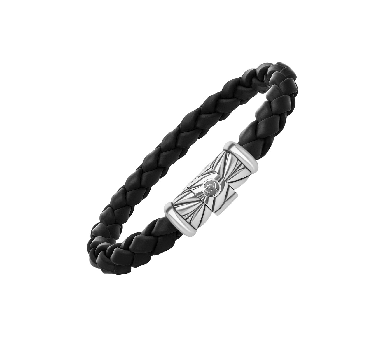 Браслет DAVID YURMAN Chevron B05524MSSRBRBLK - фото 1 – Mercury