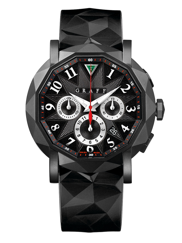Часы Steel Black Chronograph