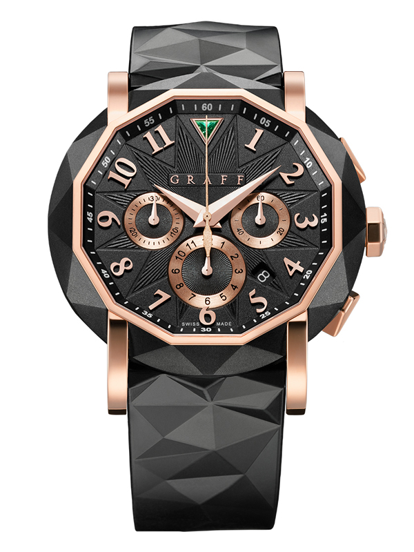 Часы Steel Rose Gold Chronograph