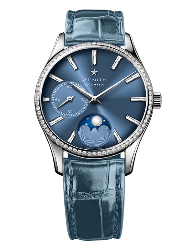 Часы Ultra Thin Lady Moonphase Blue