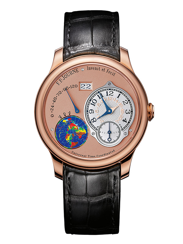 Часы Universal Time Coordinated Rose Gold