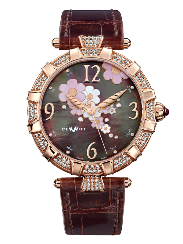 Часы Automatic Rose Gold Brown Pearl