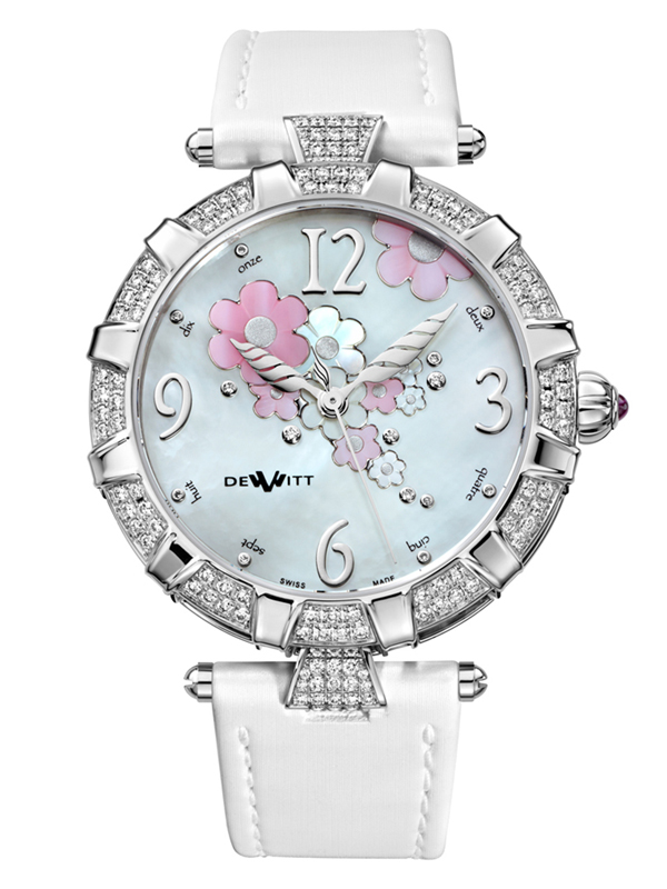 Часы Automatic White Gold White Pearl