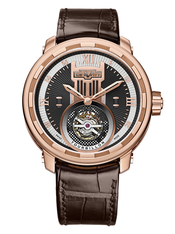 Часы Rose Gold Tourbillon