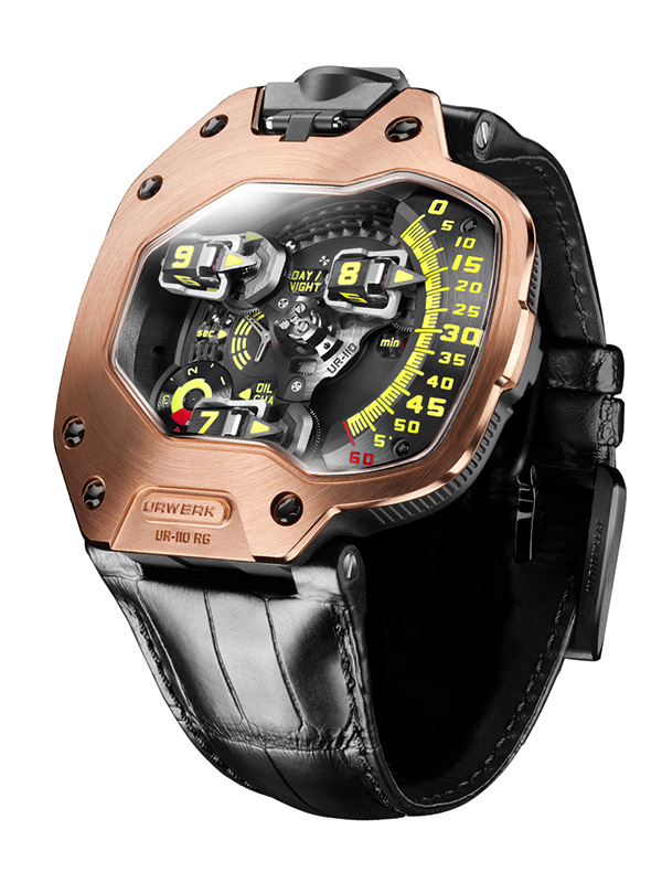 Часы UR-110 Rose Gold