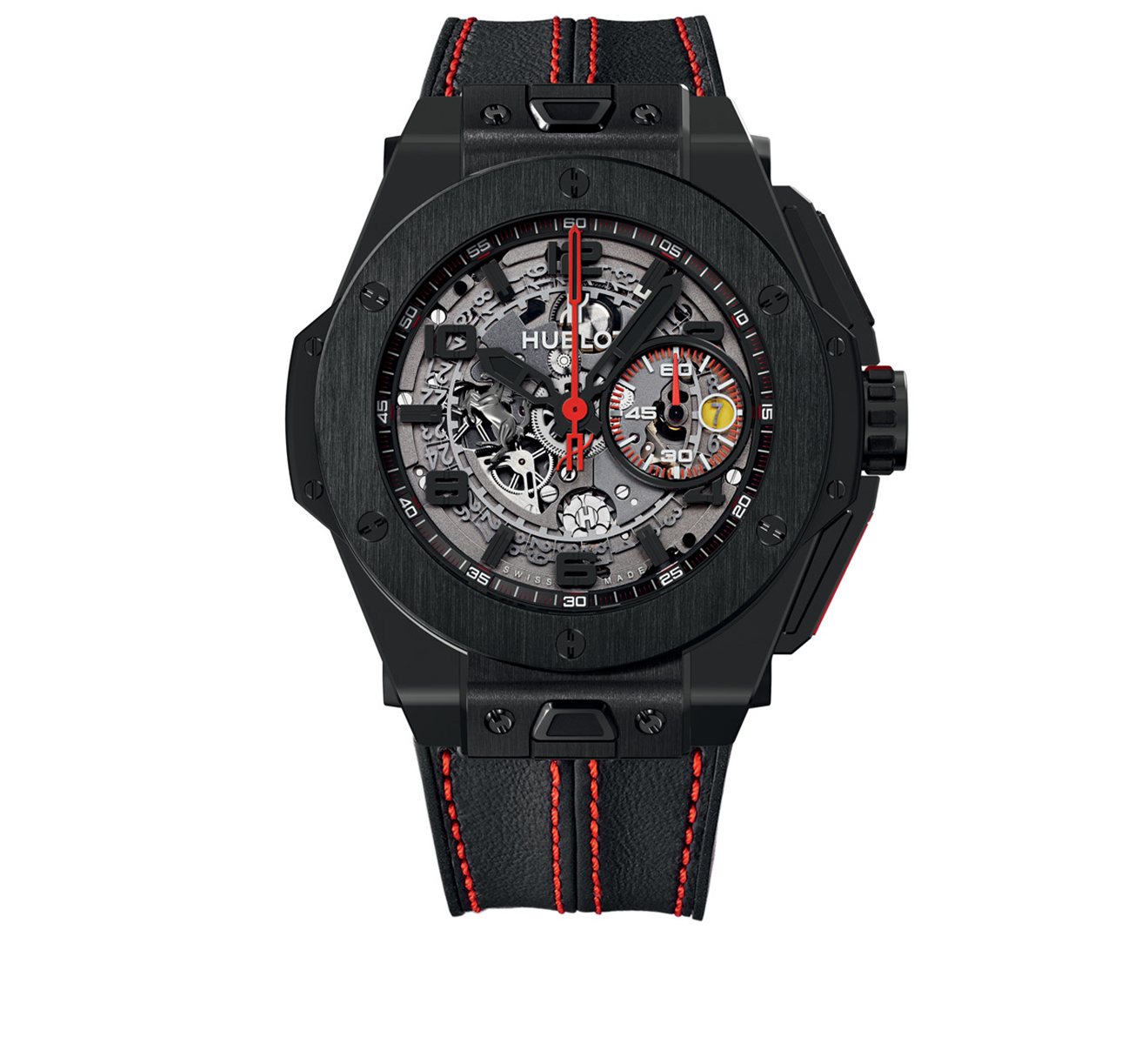 Часы Ferrari All Black HUBLOT Big Bang 401.CX.0123.VR - фото 1 – Mercury