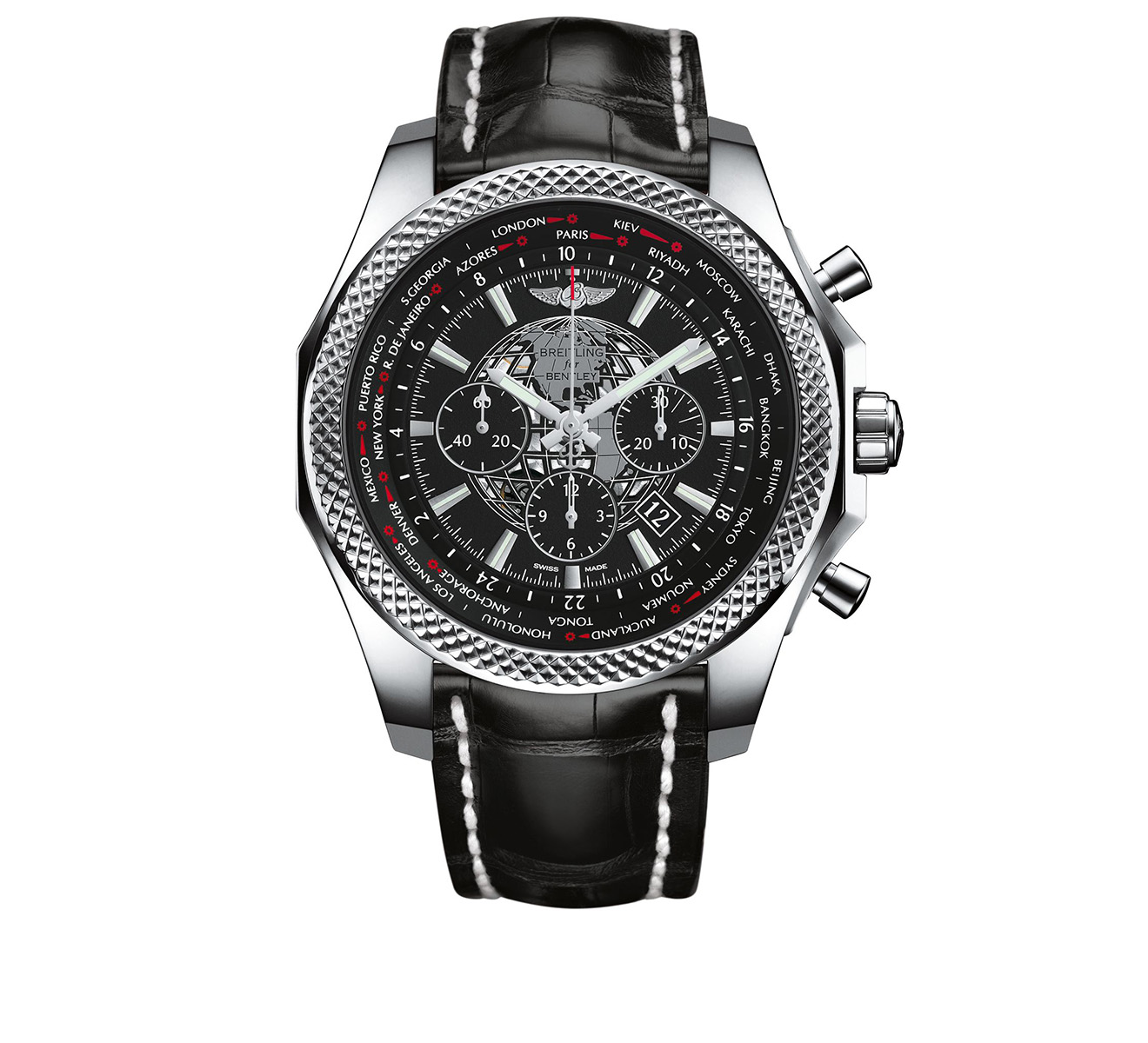 Часы B05 Unitime Black Breitling Breitling for Bentley AB0521U4/BC65/761P - фото 1 – Mercury