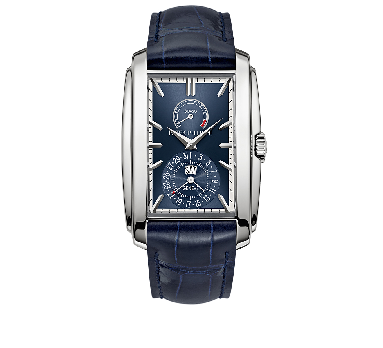 Часы 8 Days, Day & Date Indication PATEK PHILIPPE Gondolo 5200 G-001 - фото 1 – Mercury