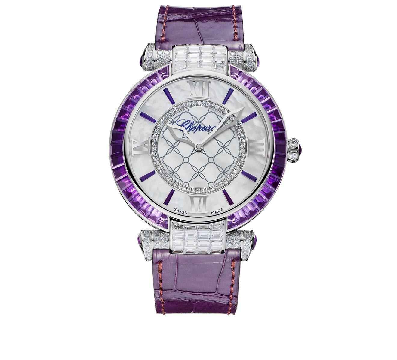 Часы Imperiale Joaillerie Amethyst Chopard Imperiale 384239-1012 - фото 1 – Mercury