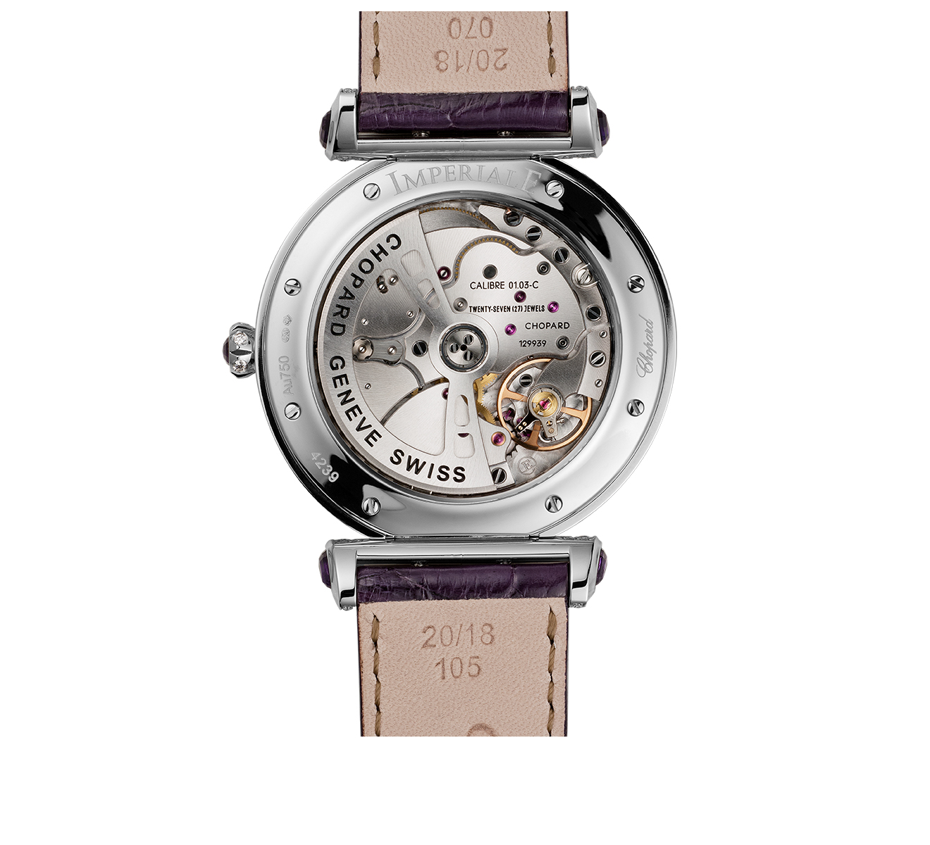 Часы Imperiale Joaillerie Amethyst Chopard Imperiale 384239-1012 - фото 2 – Mercury