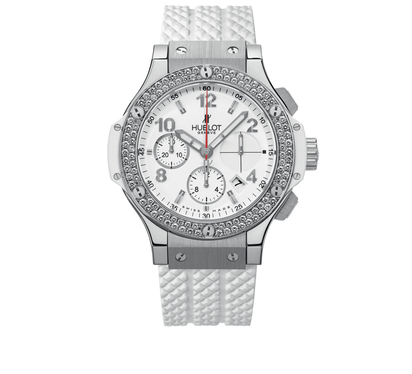 Часы Steel White Diamonds HUBLOT Big Bang 342.SE.230.RW.114 - фото 1 – Mercury