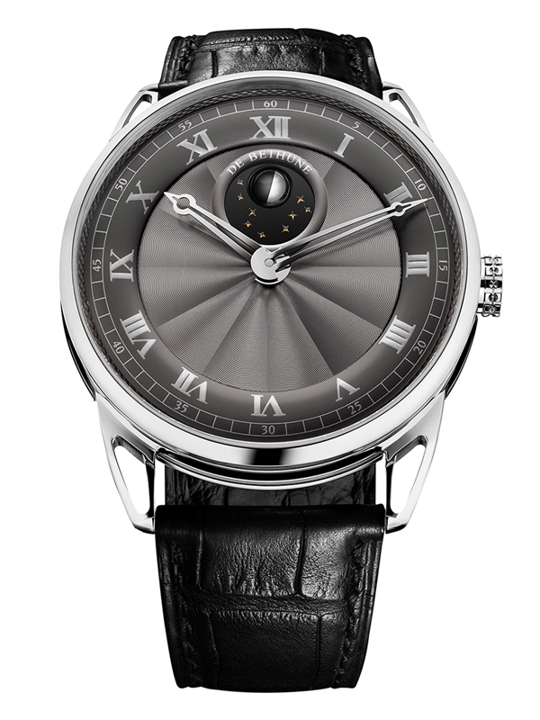 Часы Moon Phase White Gold