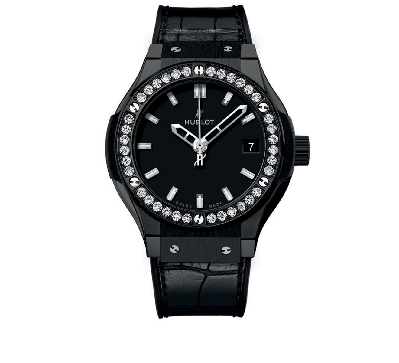 Часы Black Magic Diamonds HUBLOT Classic Fusion 581.CM.1170.LR.1104 - фото 1 – Mercury