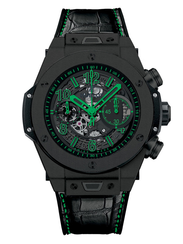 Часы Unico All Black Green
