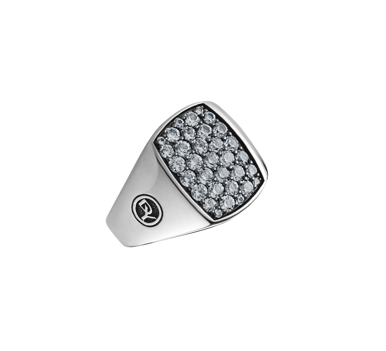 Кольцо DAVID YURMAN Pave R15468MSSAES - фото 1 – Mercury