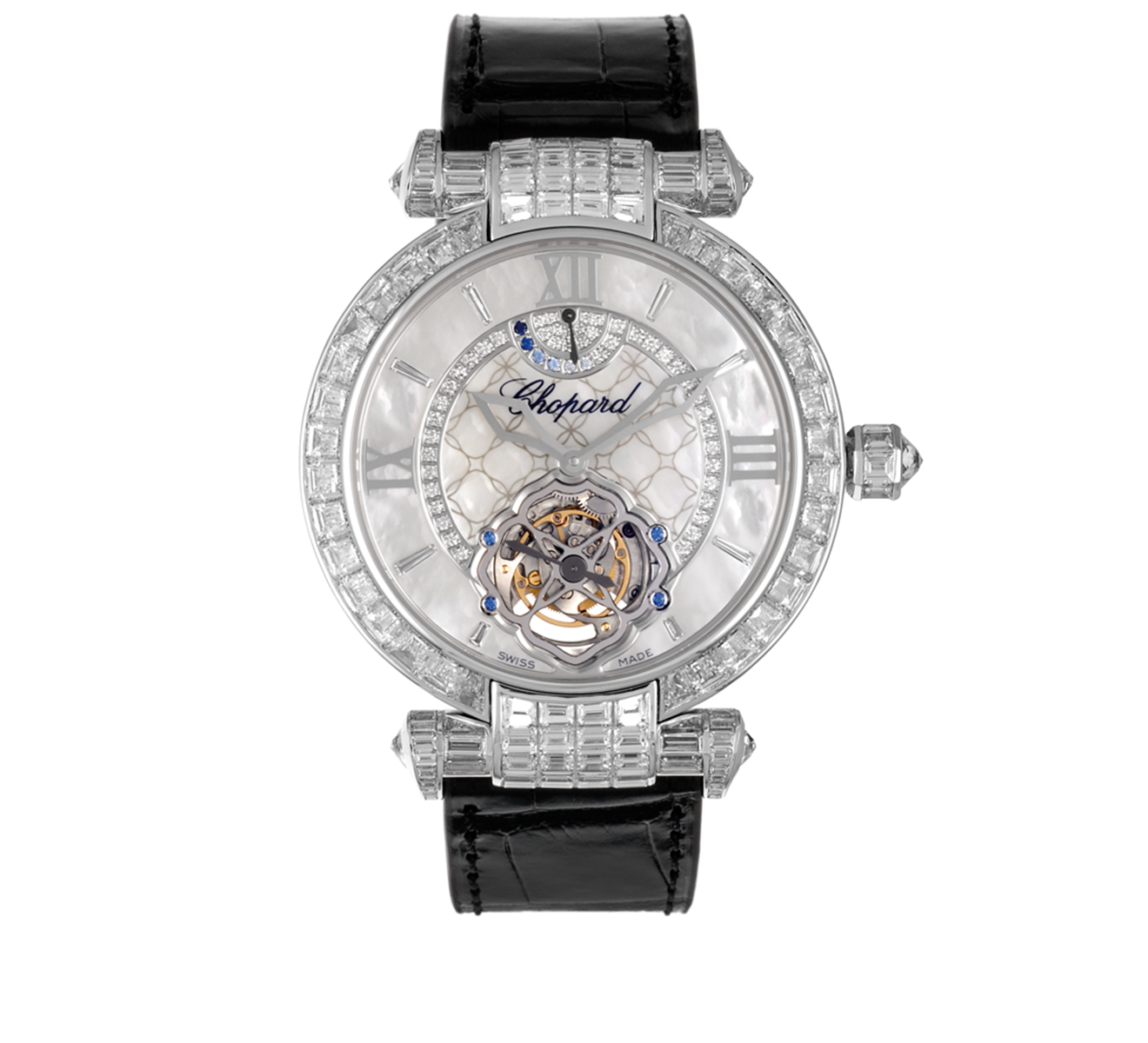 Часы Imperial Tourbillon Joaillerie Chopard Imperiale 384250-1005 - фото 1 – Mercury