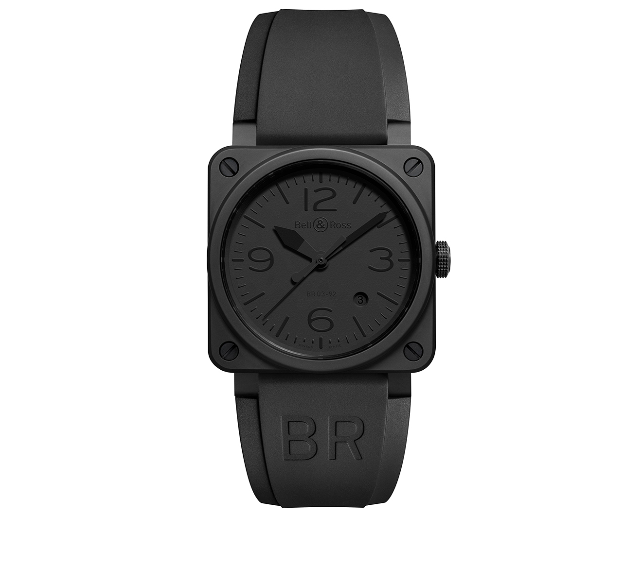 Часы Phantom Ceramic Bell&Ross BR 03 BR0392-PHANTOM-CE - фото 1 – Mercury