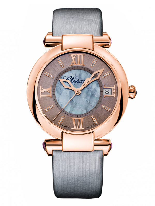 Часы Rose Gold Date Grey