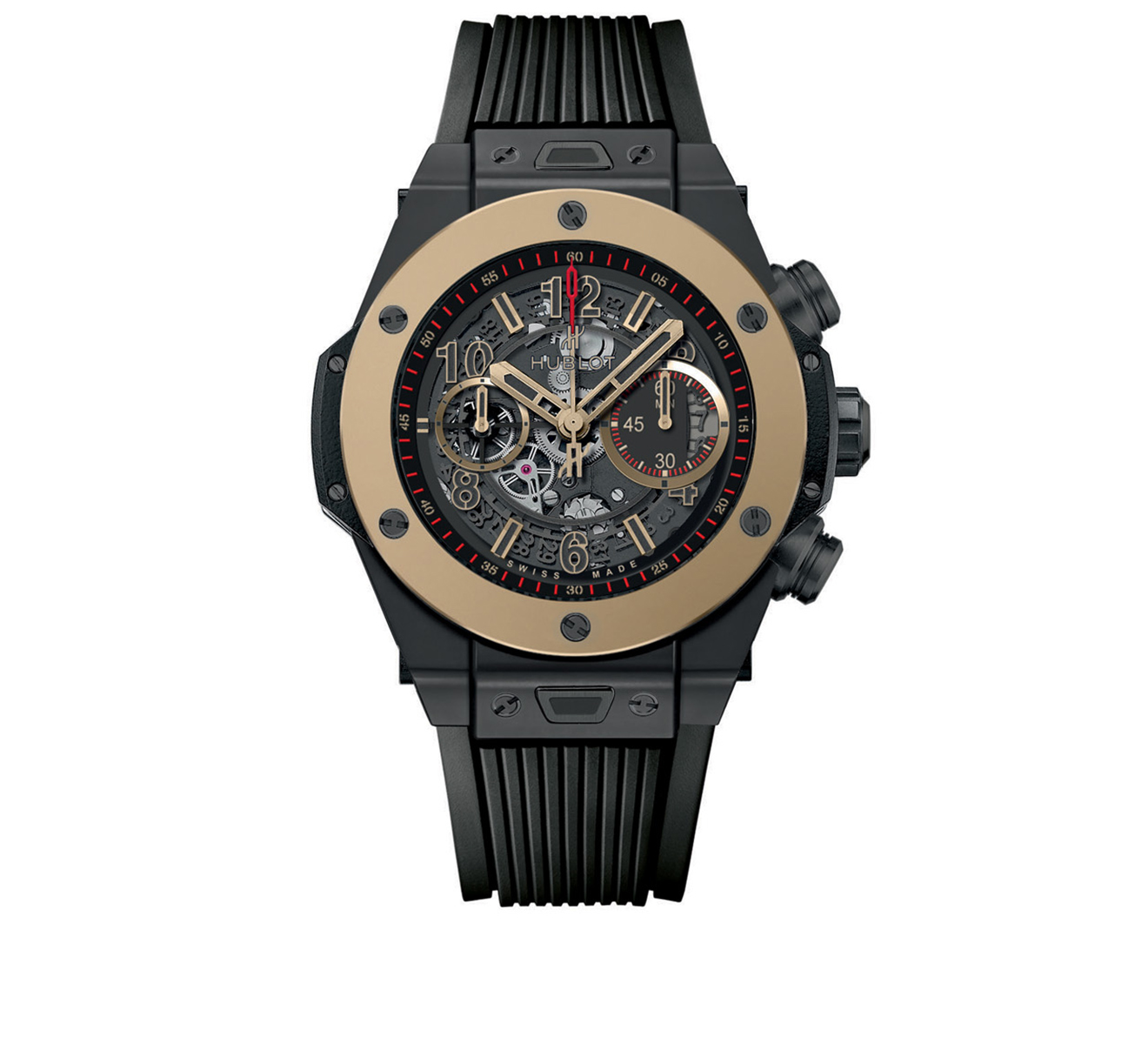 Часы Unico Ceramic Magic Gold HUBLOT Big Bang 411.CM.1138.RX - фото 1 – Mercury