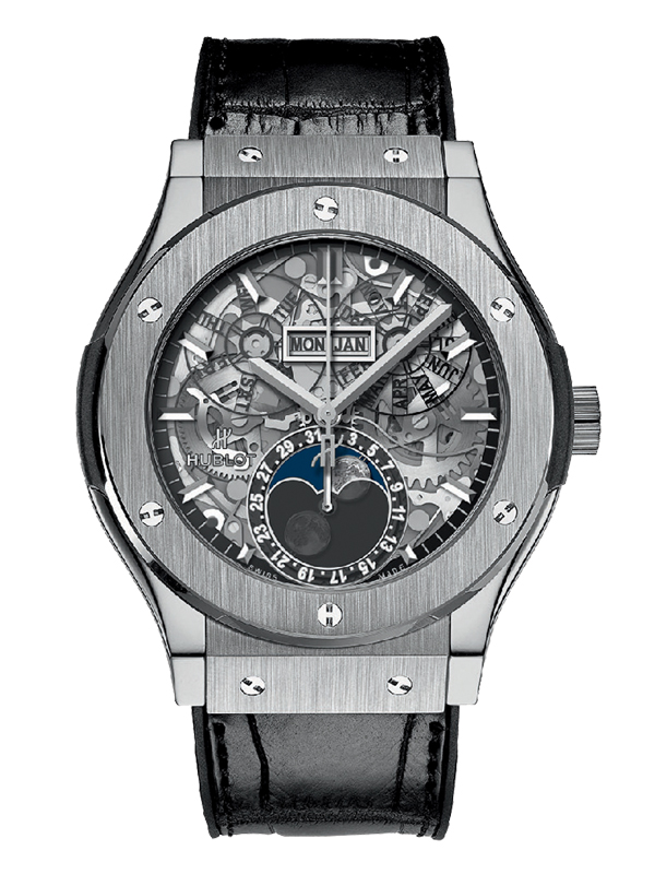 Часы Aerofusion Moonphase Titanium