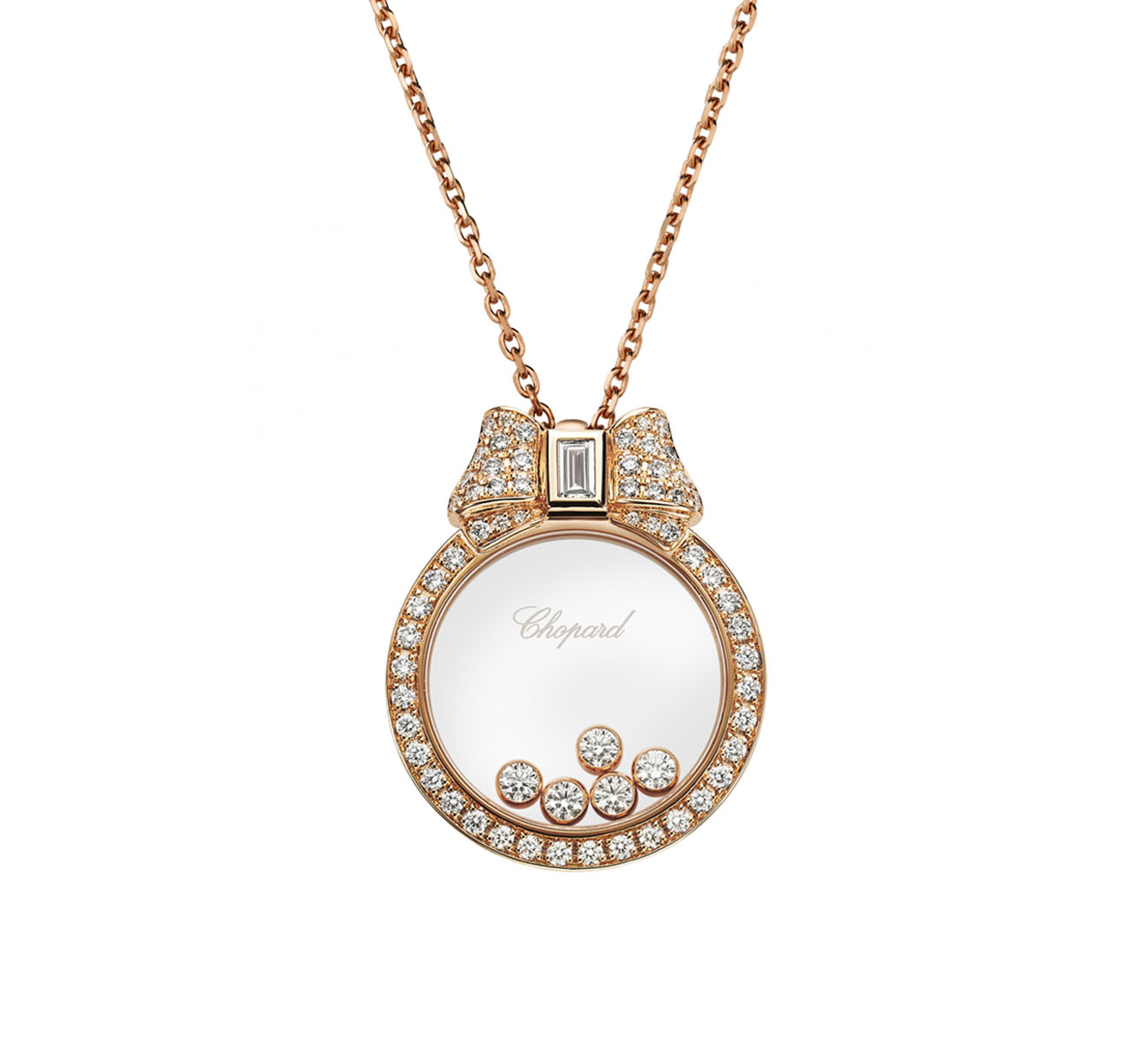 Кулон Icons Chopard Happy Diamonds 795020-5301 - фото 1 – Mercury