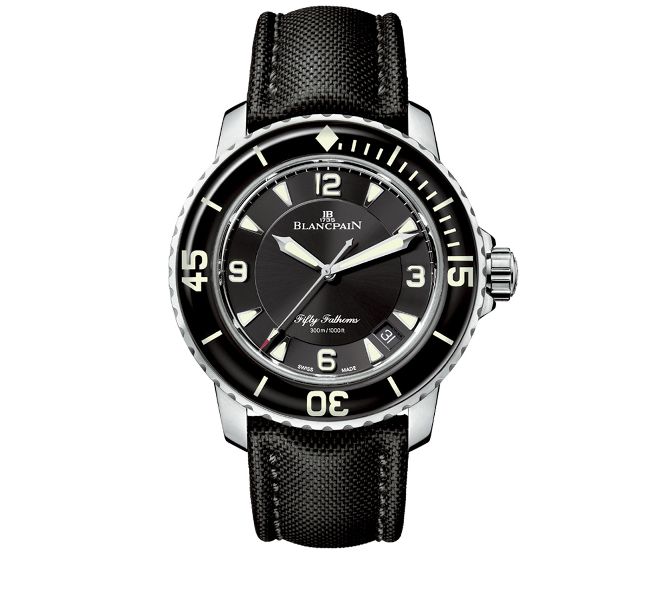 Часы Automatique Blancpain Fifty Fathoms 5015 1130 52B - фото 1 – Mercury