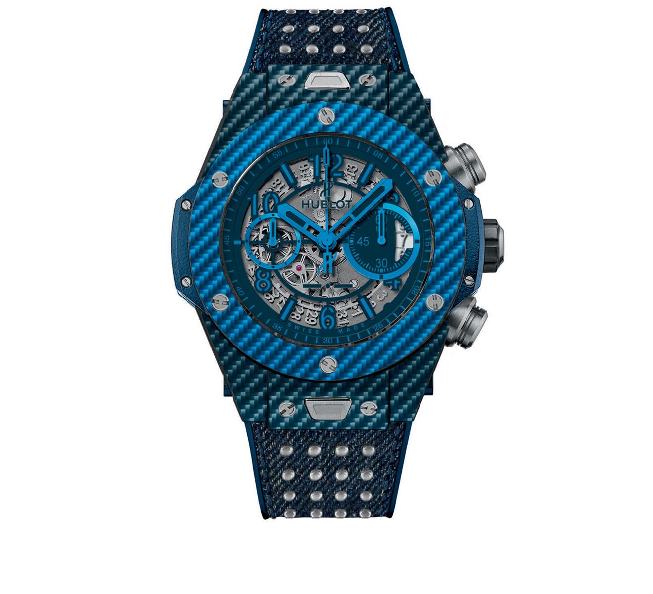 Часы Unico Italia Independent Blue HUBLOT Big Bang 411.YL.5190.NR.ITI15 - фото 1 – Mercury
