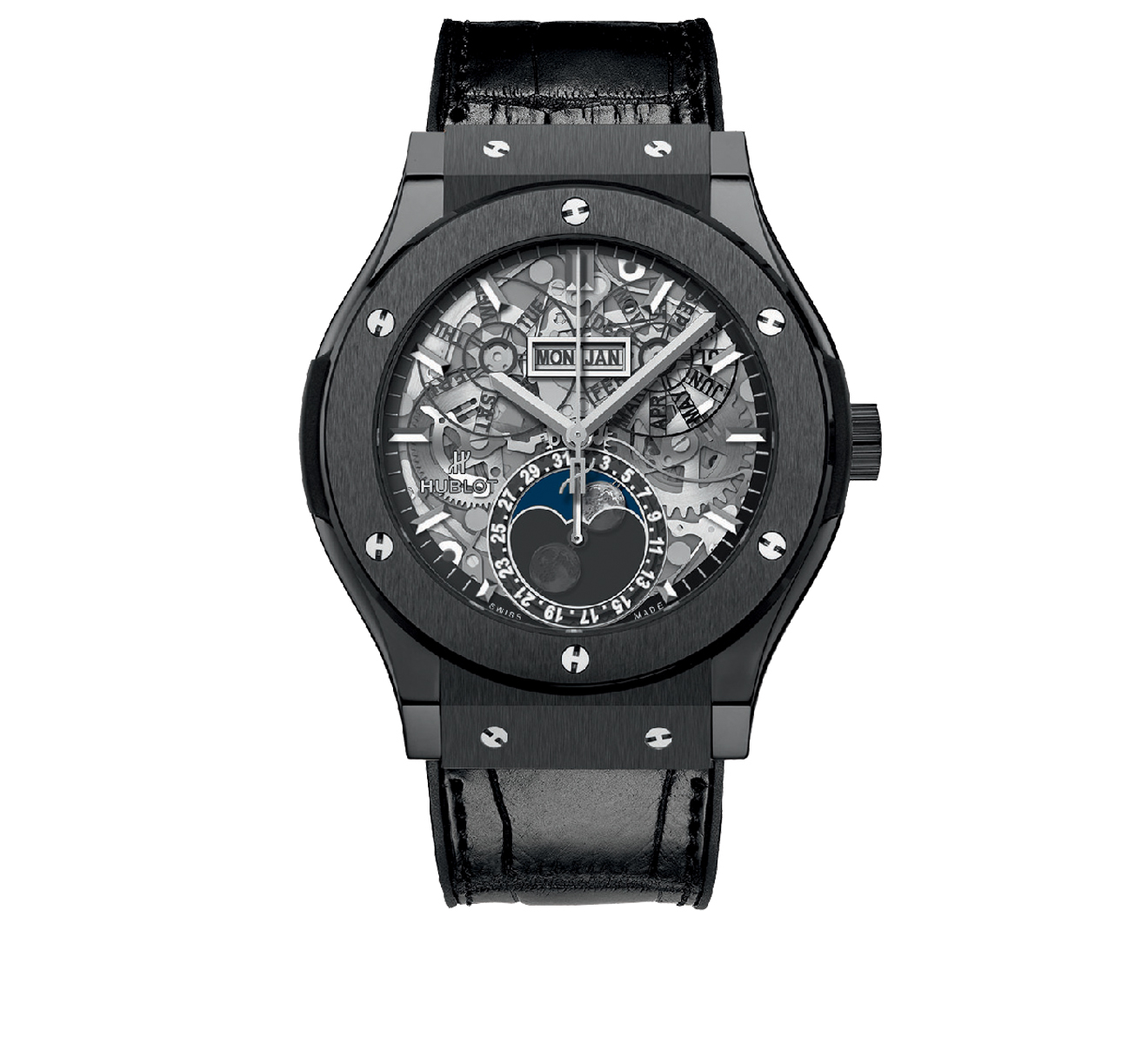 Часы Aerofusion Moonphase Ceramic HUBLOT Classic Fusion 517.CX.0170.LR - фото 1 – Mercury