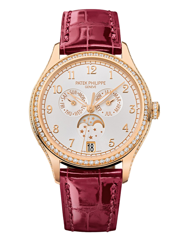 Часы Moon Phase Rose Gold