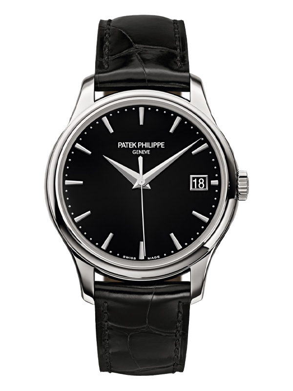 Часы White Gold Date Black