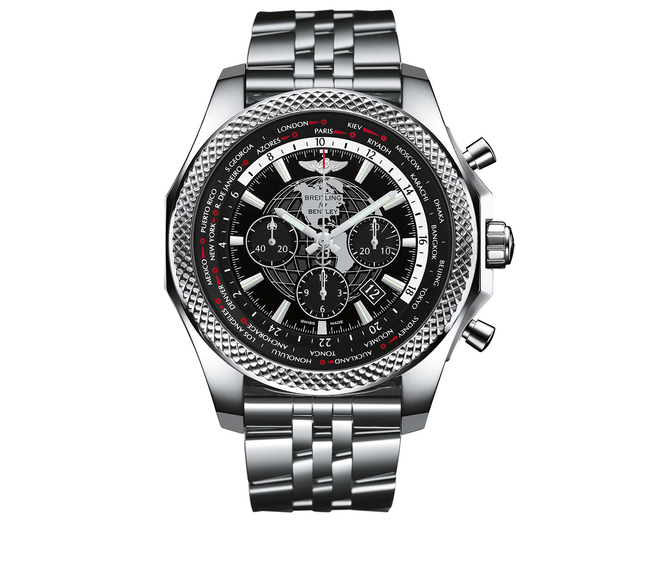 Часы Bentley B05 Unitime Breitling Breitling for Bentley AB0521U4/BD79/990A - фото 1 – Mercury