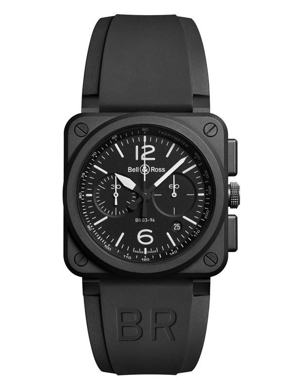 Часы Black Matte Chrono