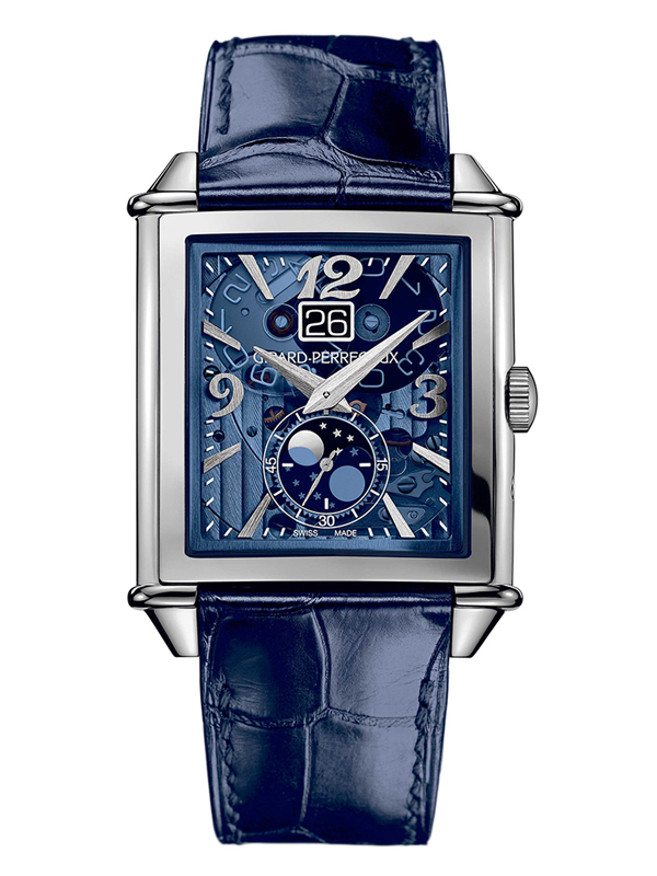 Часы XXL Large Date Steel Blue