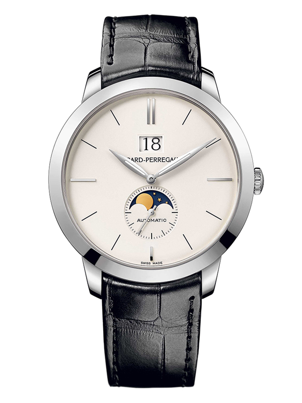 Часы White Gold Moon Phase