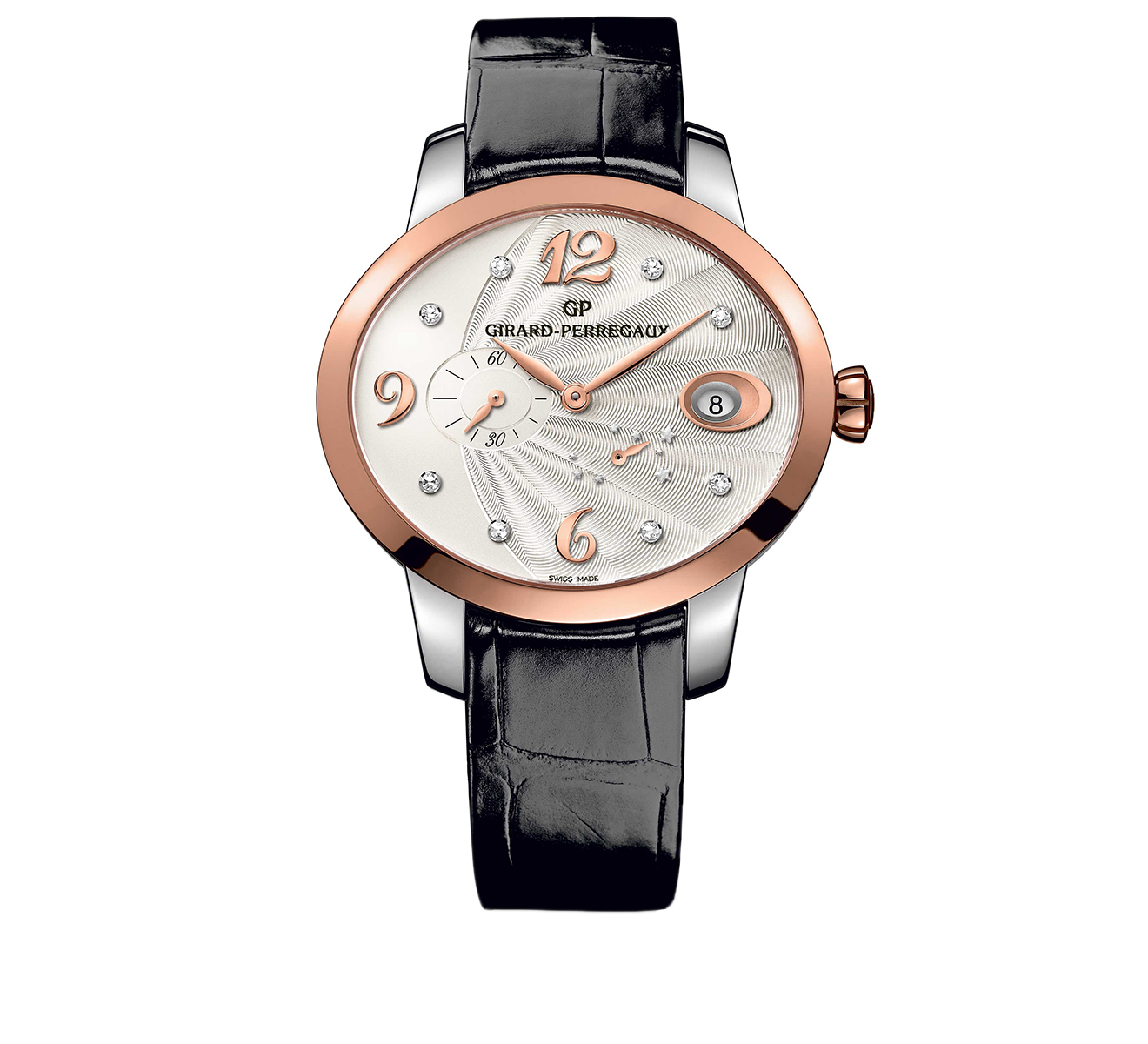 Часы Power Reserve Rose Gold GIRARD-PERREGAUX Cat's Eye 80486-56-162-CK6A - фото 1 – Mercury