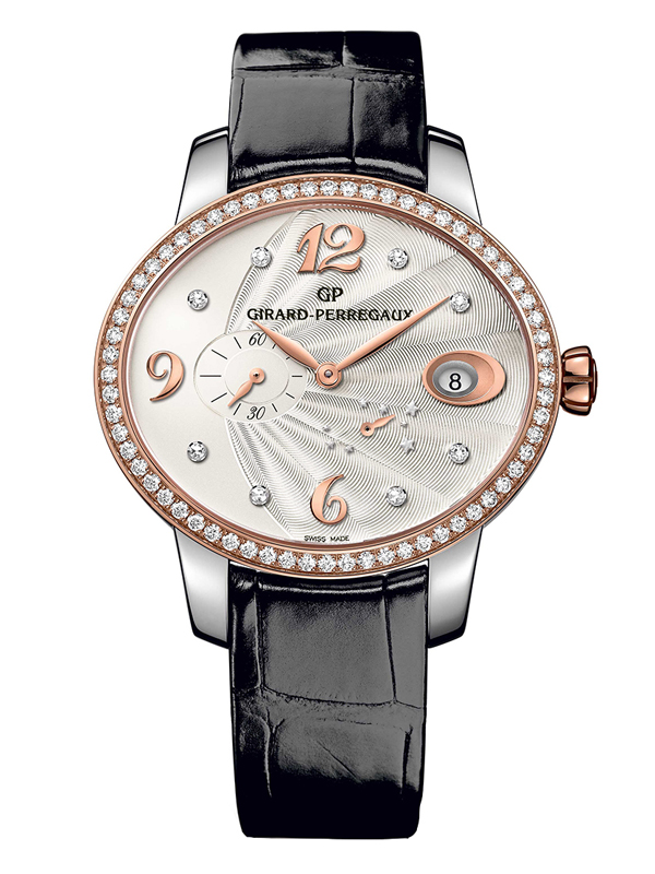 Часы Power Reserve Steel and Rose Gold