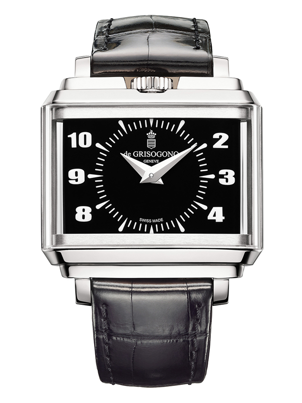 Часы Panoramic White Gold Black