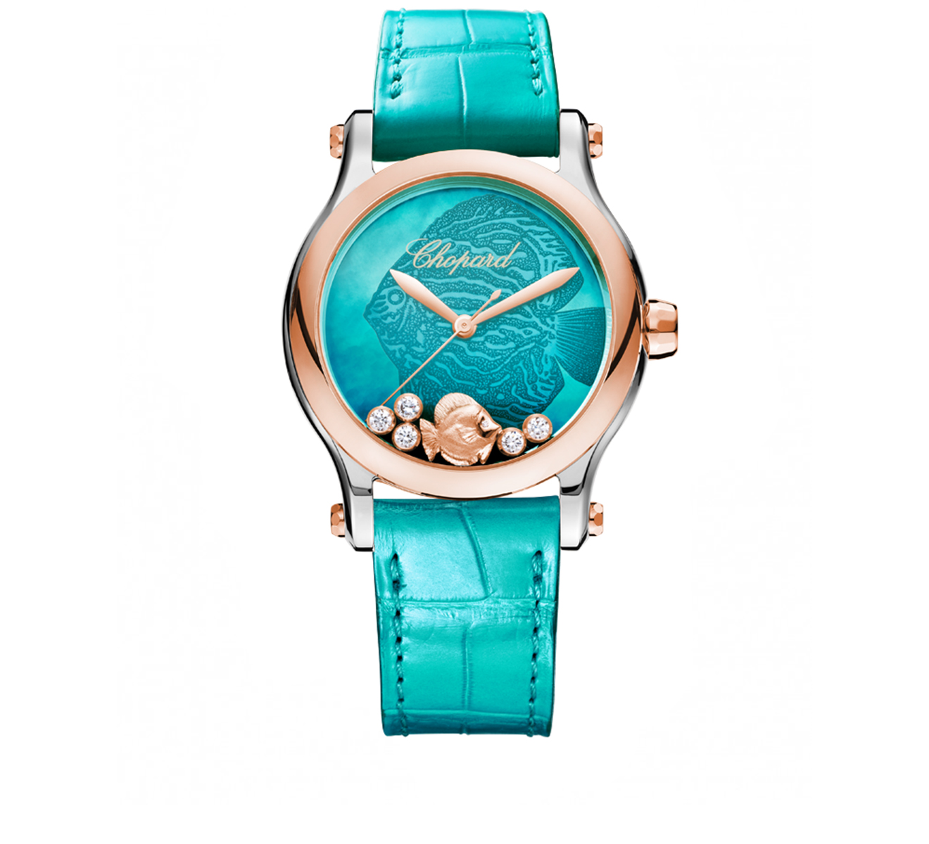 Часы Happy Fish Automatic Chopard Happy Sport 278578-6001 - фото 1 – Mercury