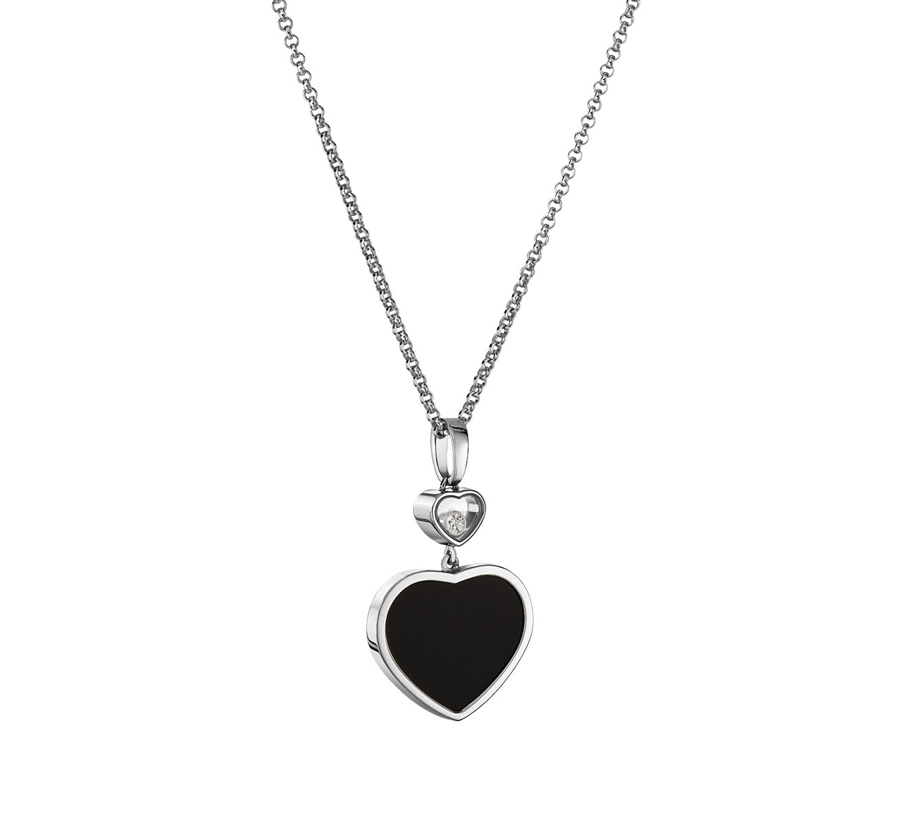 Кулон Happy Hearts Chopard Happy Diamonds 797482-1201 - фото 1 – Mercury