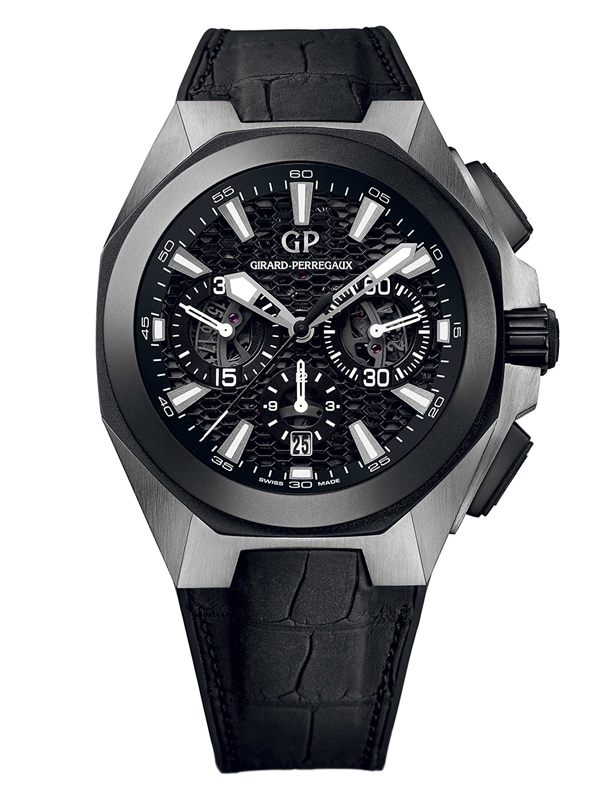 Часы Titanium Ceramic Black Chrono