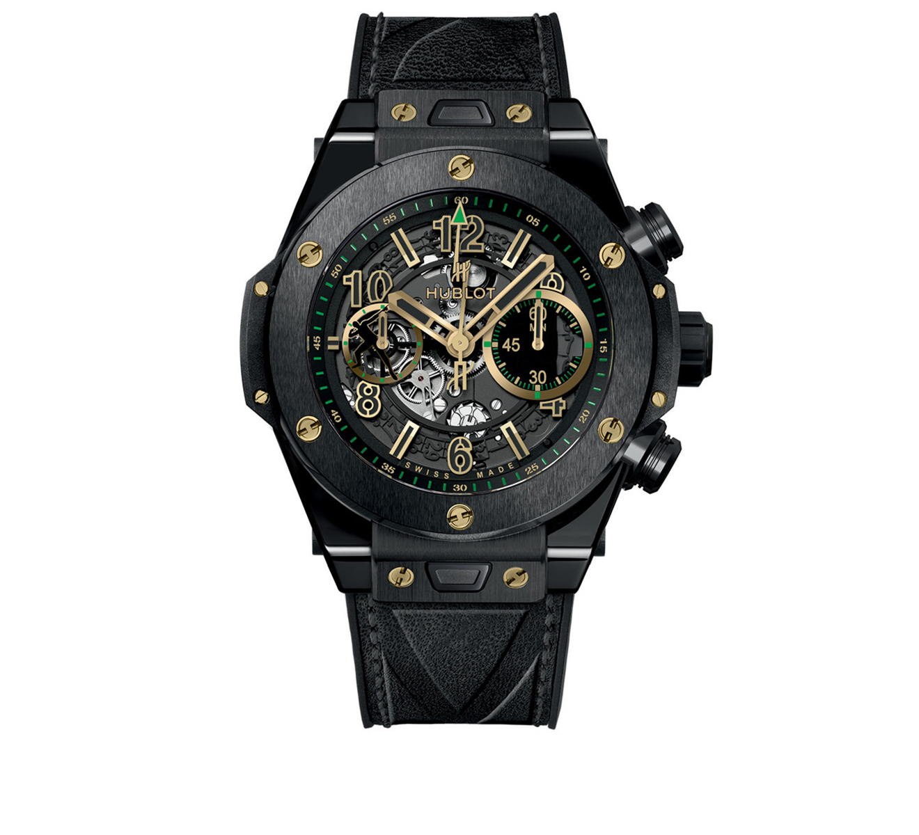 Часы Unico Usain Bolt HUBLOT Big Bang 411.CX.1189.VR.USB16 - фото 1 – Mercury