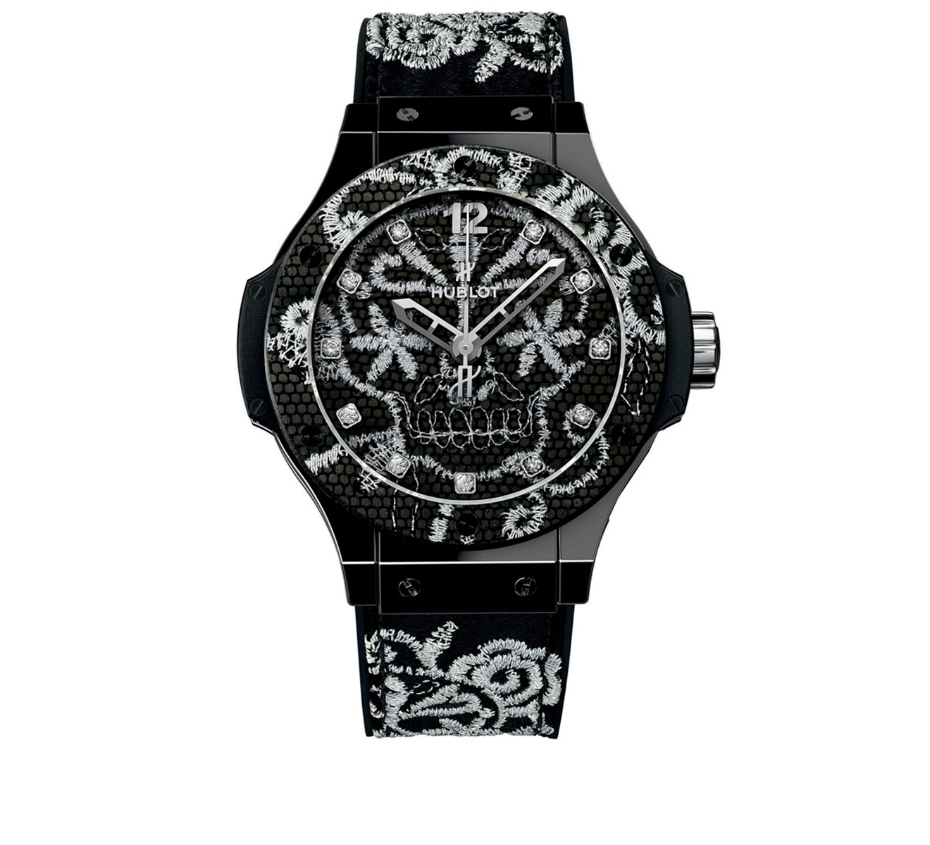 Часы Broderie Ceramic HUBLOT Big Bang 343.CS.6570.NR.BSK16 - фото 1 – Mercury