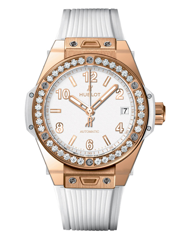 Часы One Click Gold White Diamonds