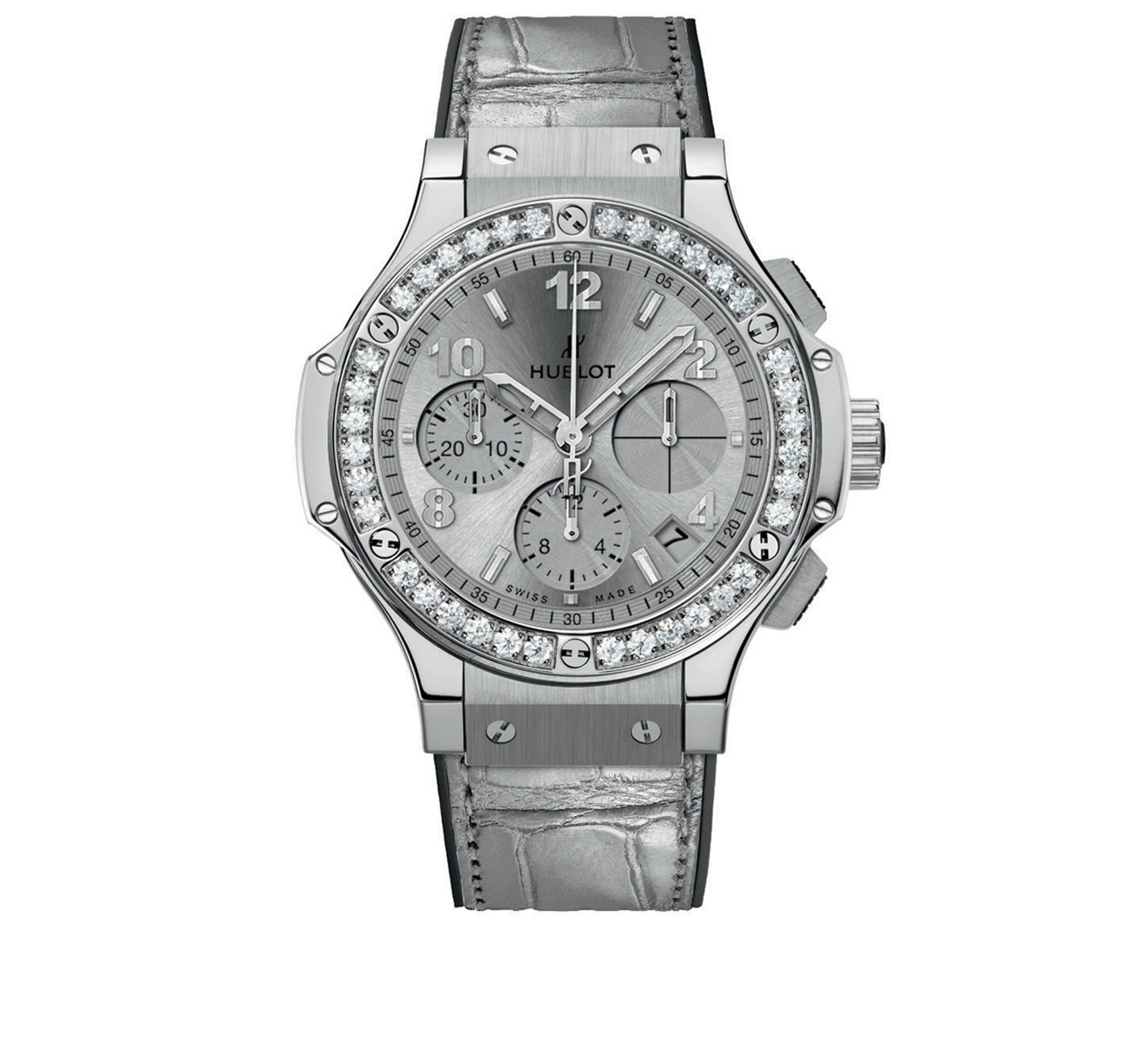Часы Monochrome HUBLOT Big Bang 341.SX.4310.LR.1204 - фото 1 – Mercury