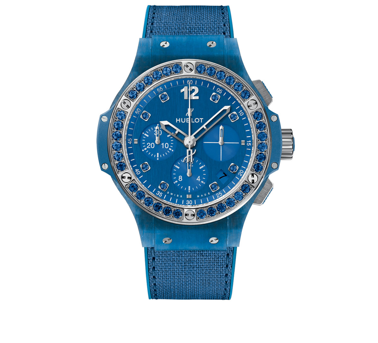 Часы Blue Linen HUBLOT Big Bang 341.XL.2770.NR.1201 - фото 1 – Mercury