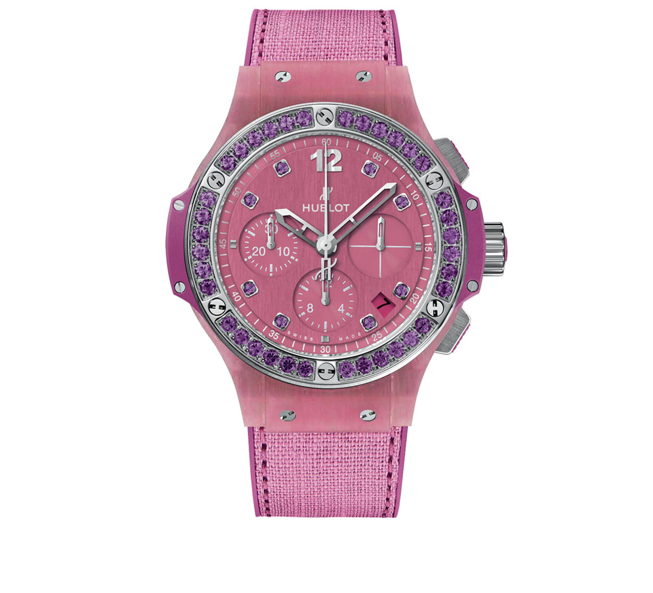 Часы Purple Linen HUBLOT Big Bang 341.XP.2770.NR.1205 - фото 1 – Mercury