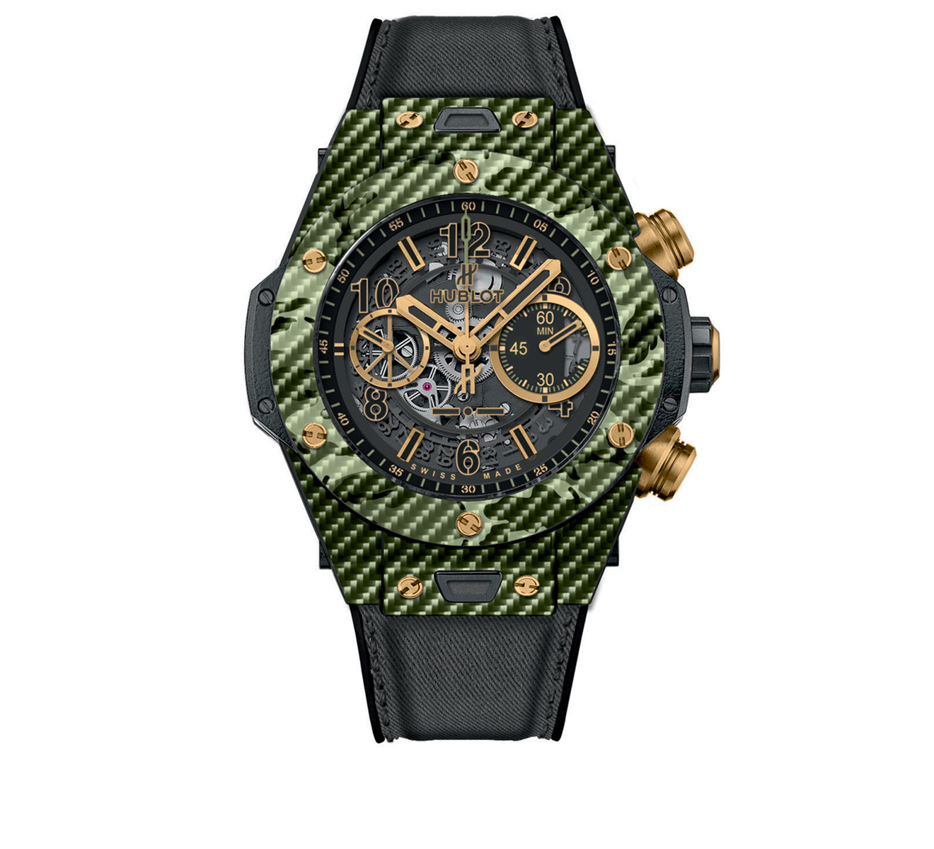 Часы Unico Italia Independent Green HUBLOT Big Bang 411.YG.1198.NR.ITI16 - фото 1 – Mercury