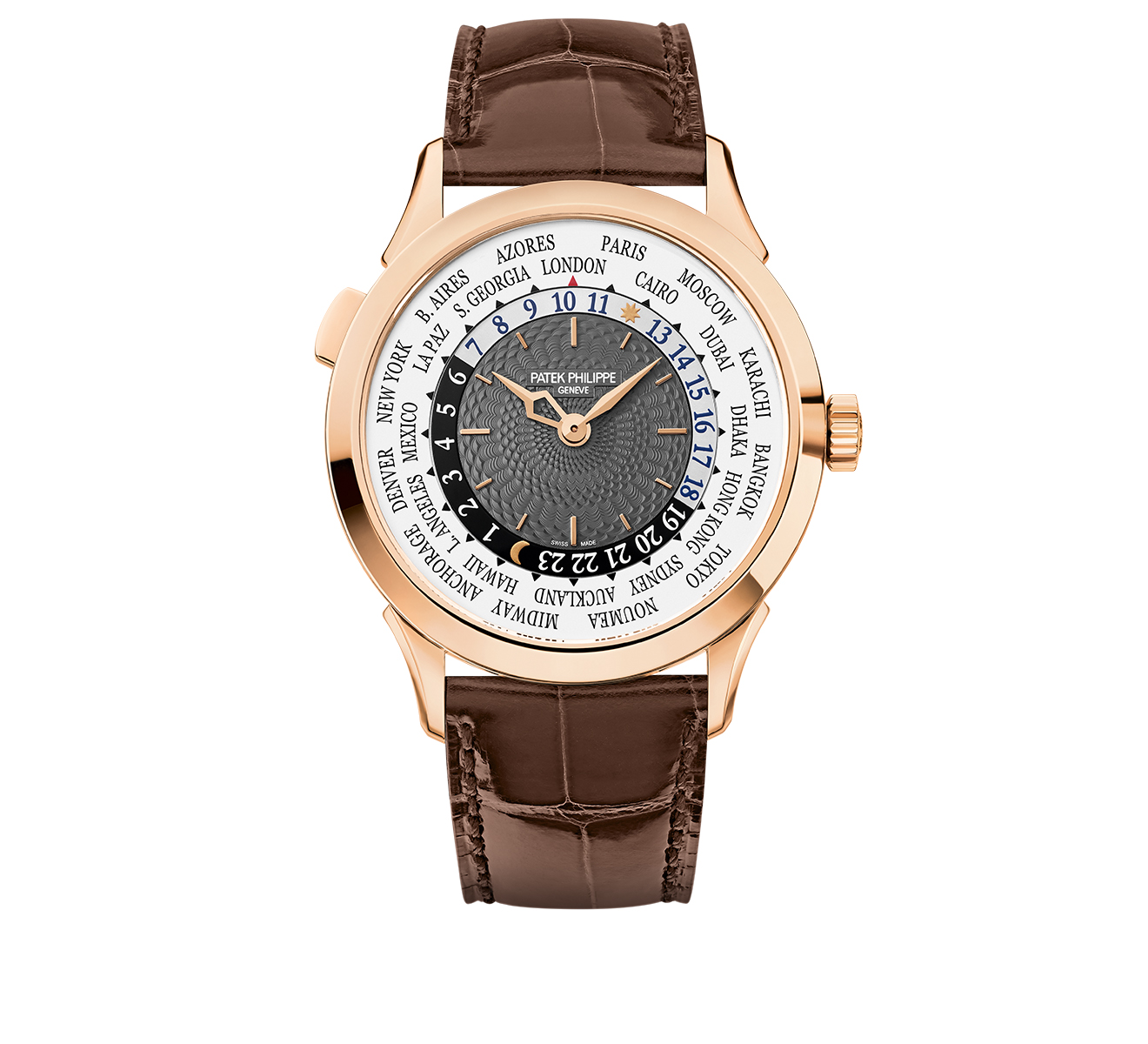 Часы World Time PATEK PHILIPPE Complications 5230 R-001 - фото 1 – Mercury